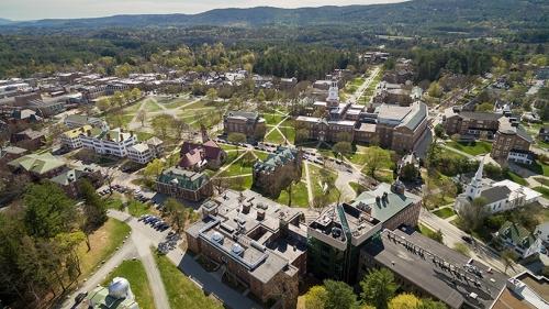 Campus aerial sprin