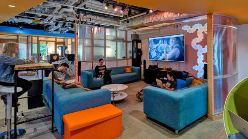 The DALI Lab's new lounge