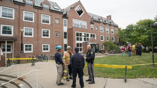 Morton Hall Fire