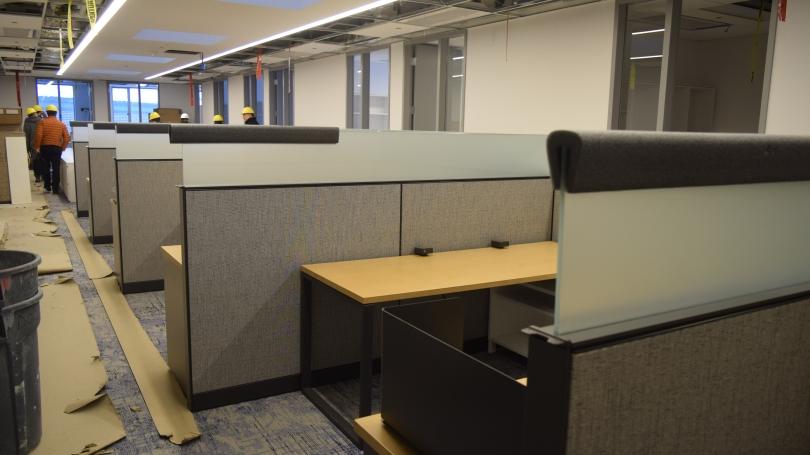 staff desks